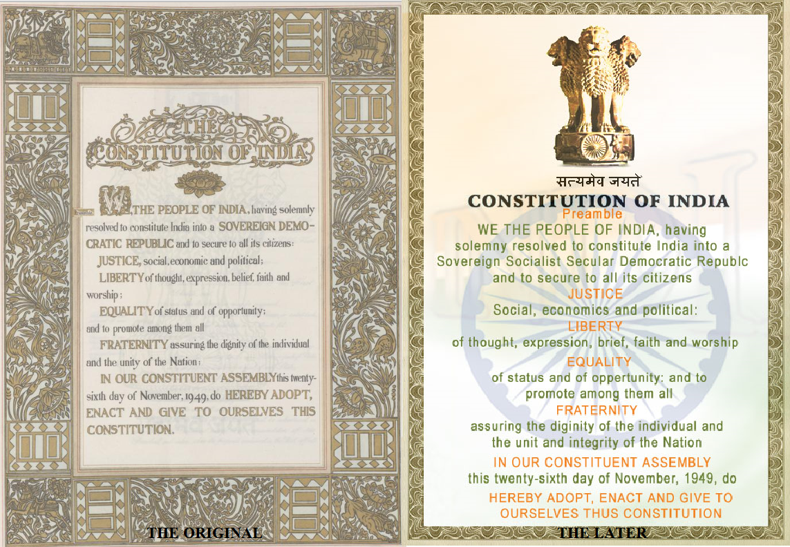 ROLE OF PREAMBLE IN INTERPRETING CONSTITUTION | RACOLB LEGAL